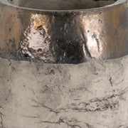 Metallic Dipped Large Planter