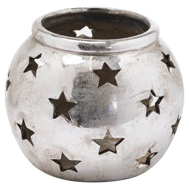 Aspen Large Star Tea Light Lantern