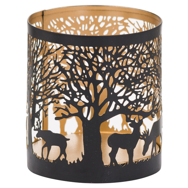 Small Glowray Stag In Forest Lantern
