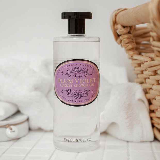 Plum Violet Shower Gel