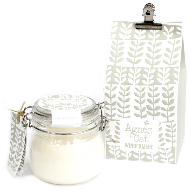Agnes & Cat Windermere Soy Candle