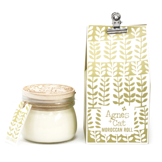 Agnes & Cat Moroccan Roll Soy Candle