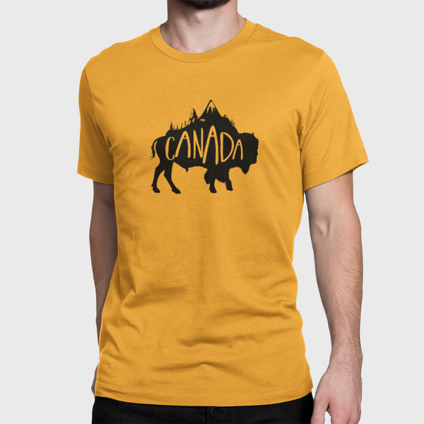 T-shirt Bison-KM54