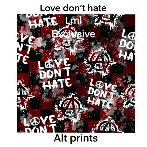Love don't hate