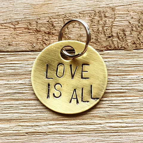 Love Is All Keychain