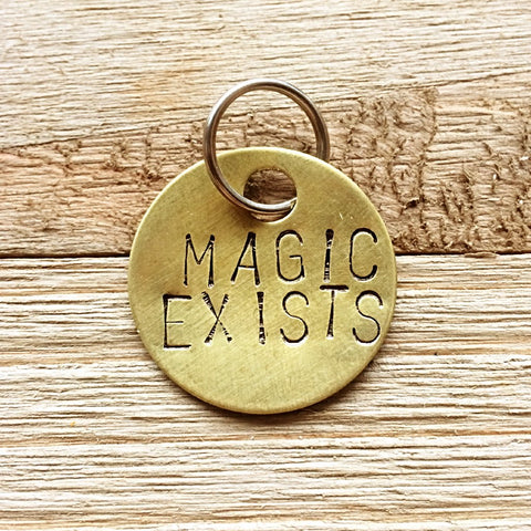 Magic Exists Keychain