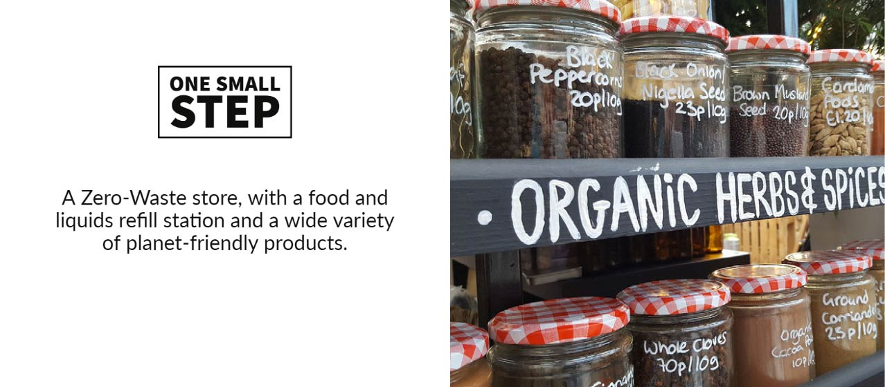 altrincham market - one small step - zero waste store - refill station - whats on at altrincham market