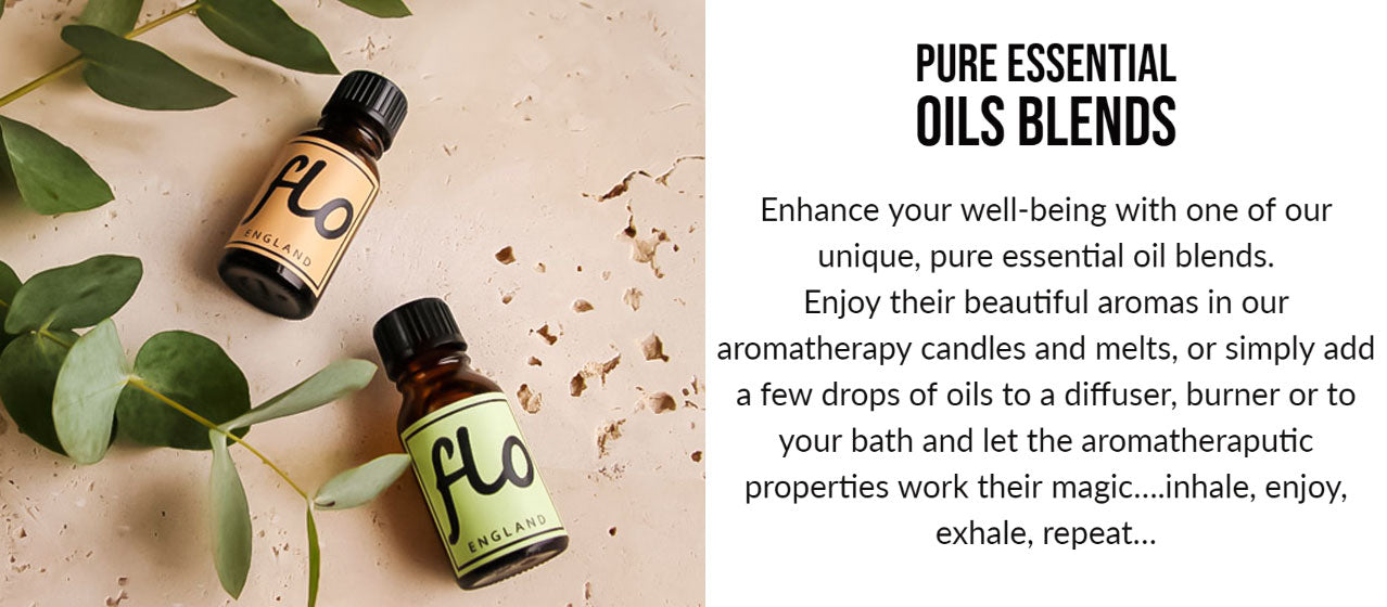 essential oil blends for diffusers - aromas by flo - altrincham market