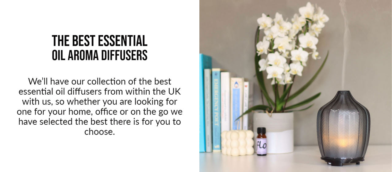 the best essential oil diffusers UK - altrincham market - aromatherapy diffusers