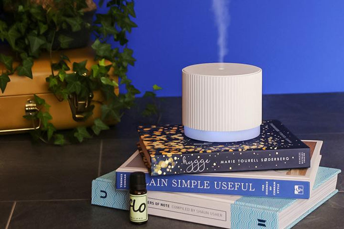 Essential oil Diffuser - Novo + Free essential oil blend