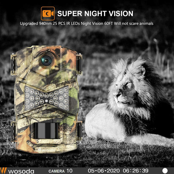 Trail Game Camera with Night Vision