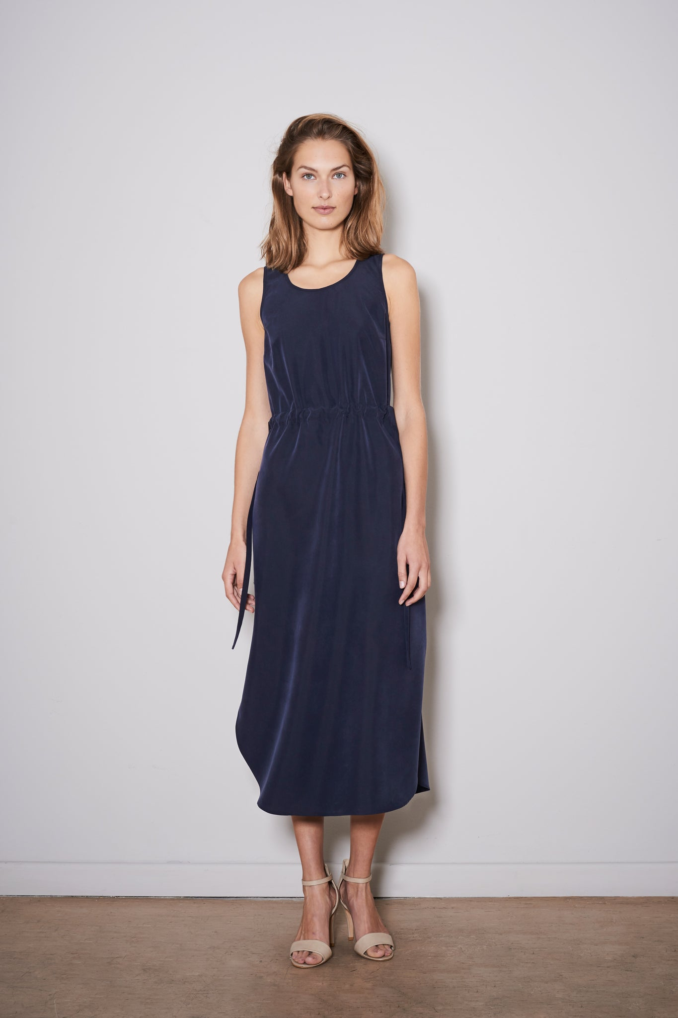 ZAVIAL DRESS dark blue modal