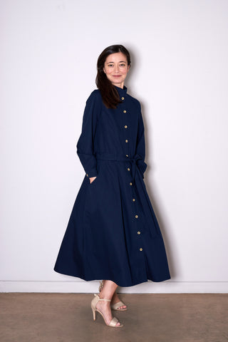 HERITAGE DRESS navy