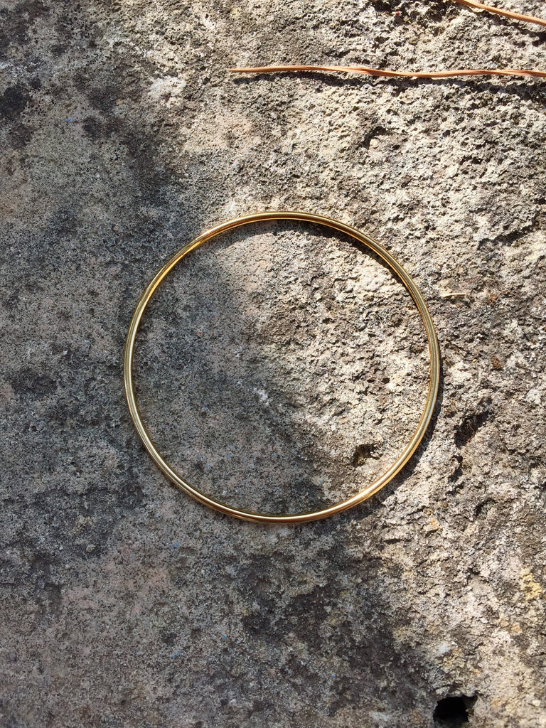 THIN GOLDEN BANGLE