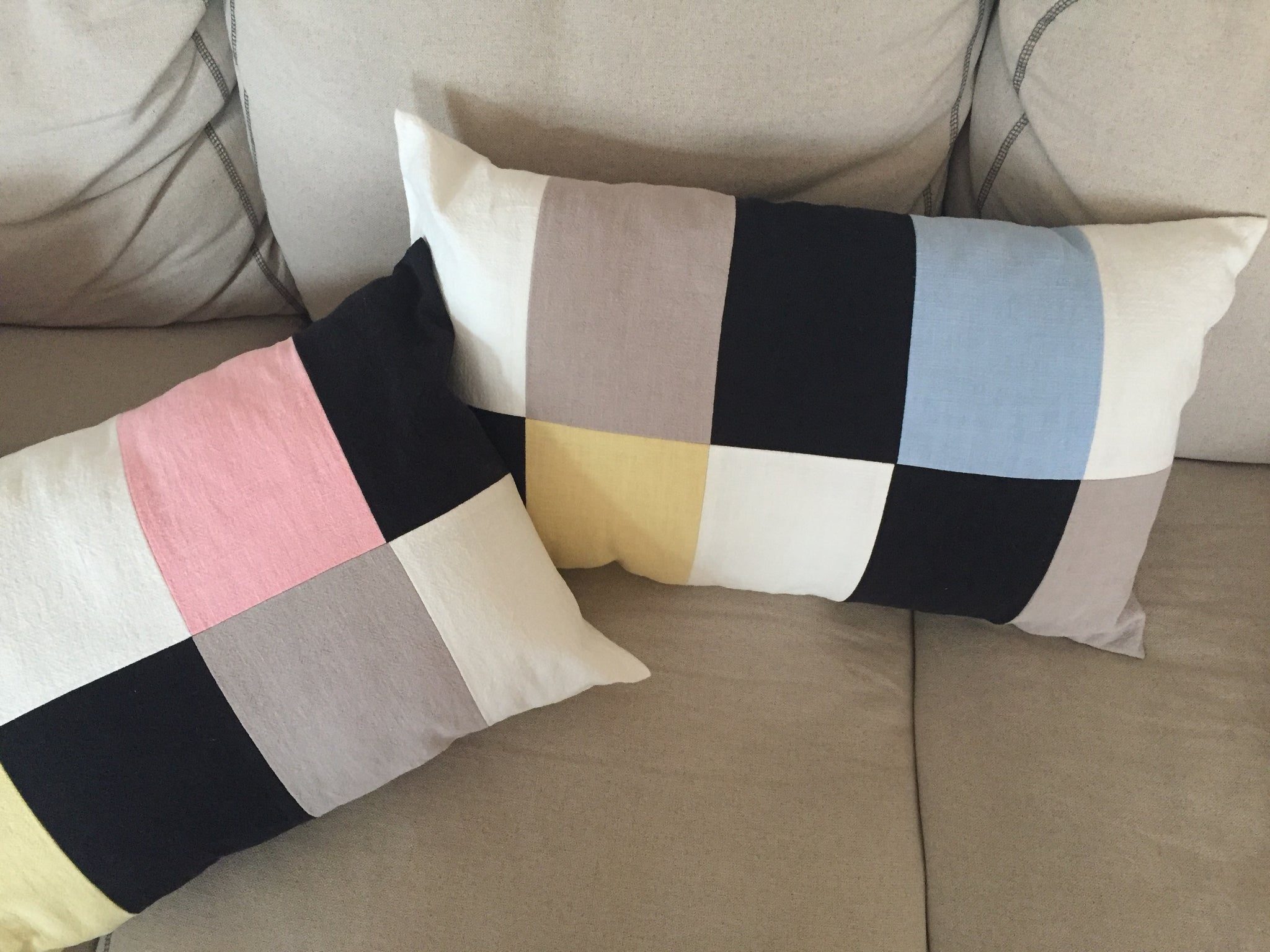 CUSHION COVER COUPLE pastell