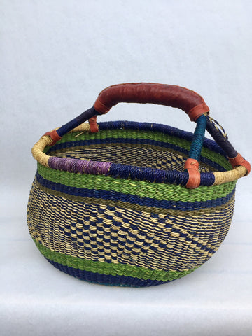 BASKET blue green