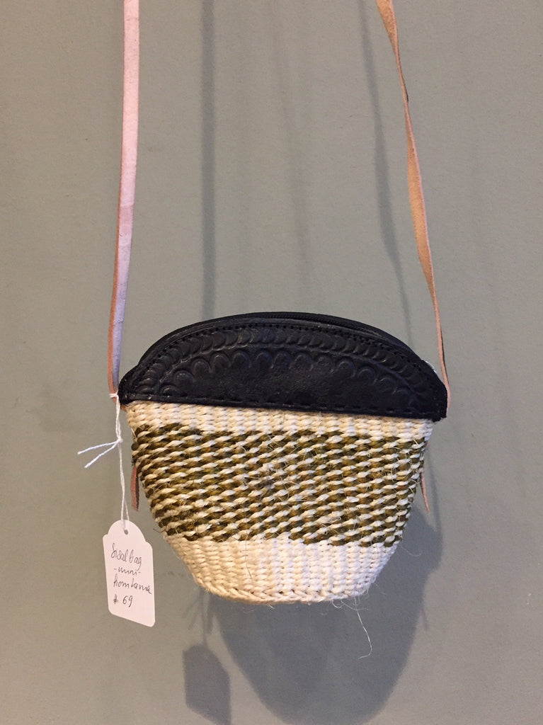 SISAL PURSE mini mud