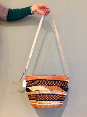 SISAL PURSE geometric