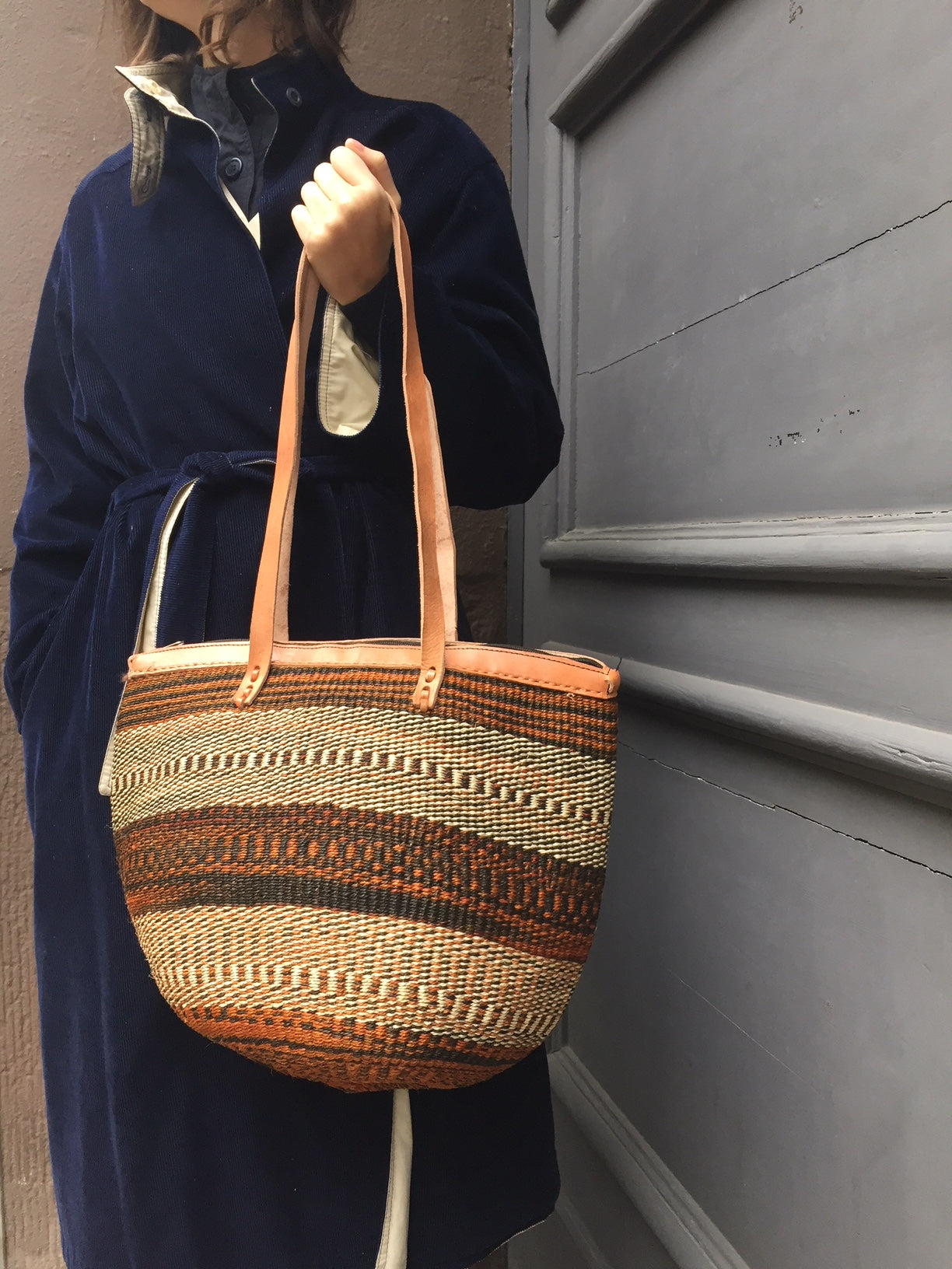 SISAL SHOPPER mixed pattern
