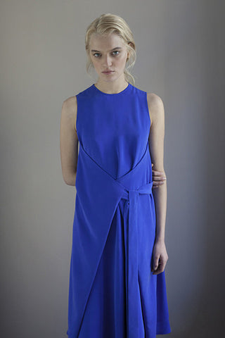 AMARYLLIS DRESS electric blue