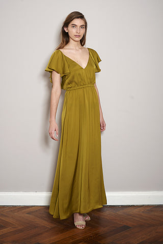 TUSKANA DRESS olive