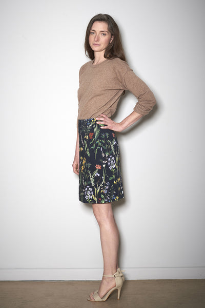 BOTANIC MINI SKIRT black