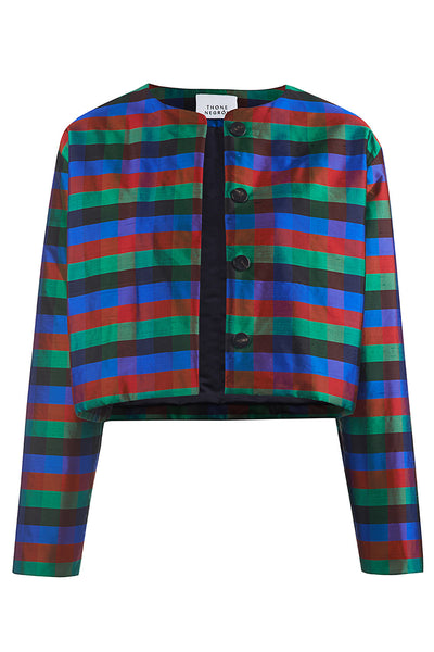 SARATOV JACKET multi silk
