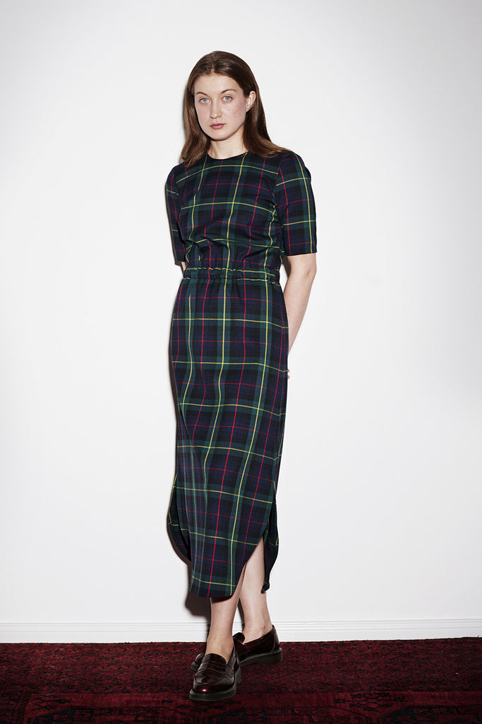 PAXTONIA EASY DRESS check
