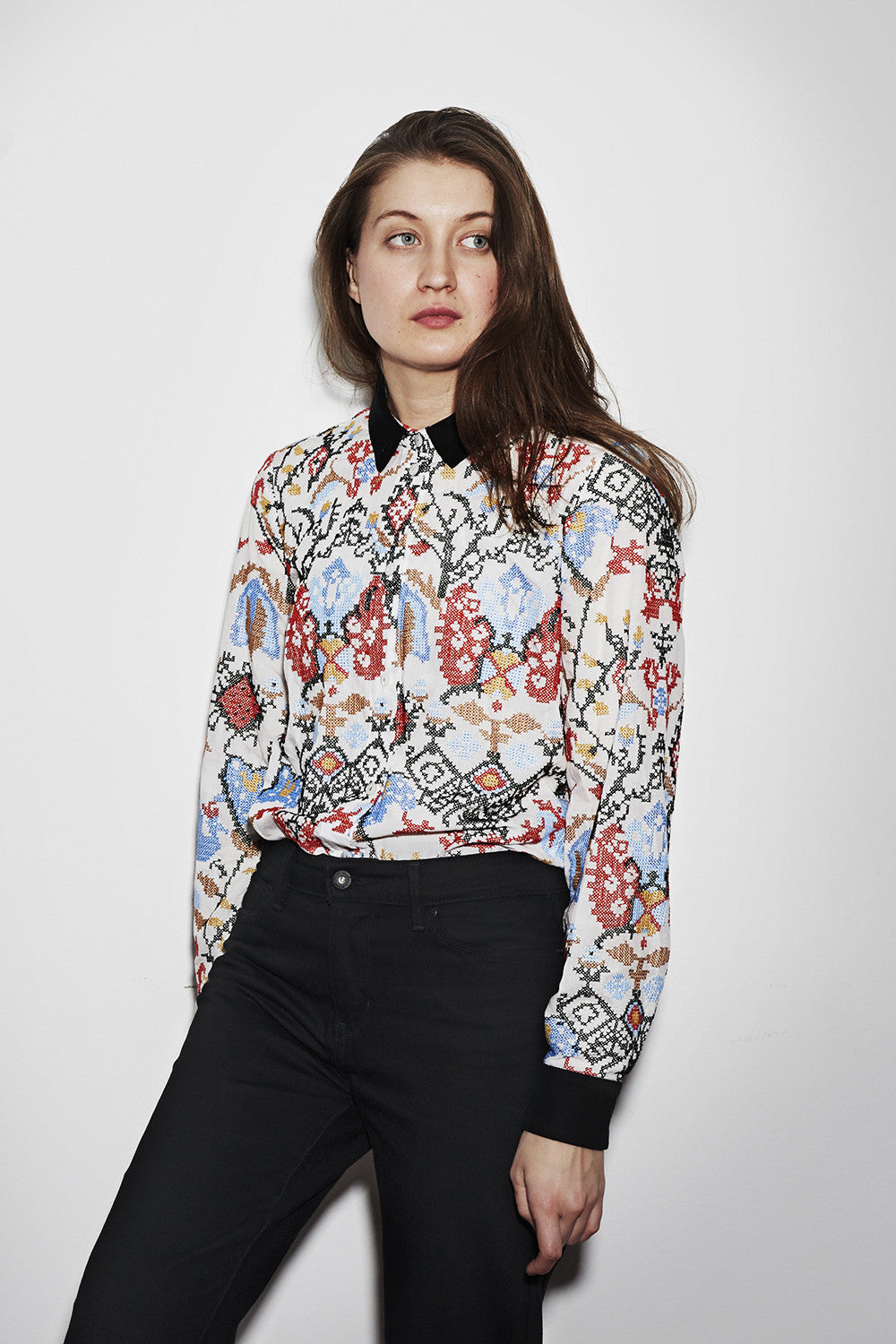 ASPEN BLOUSE multi
