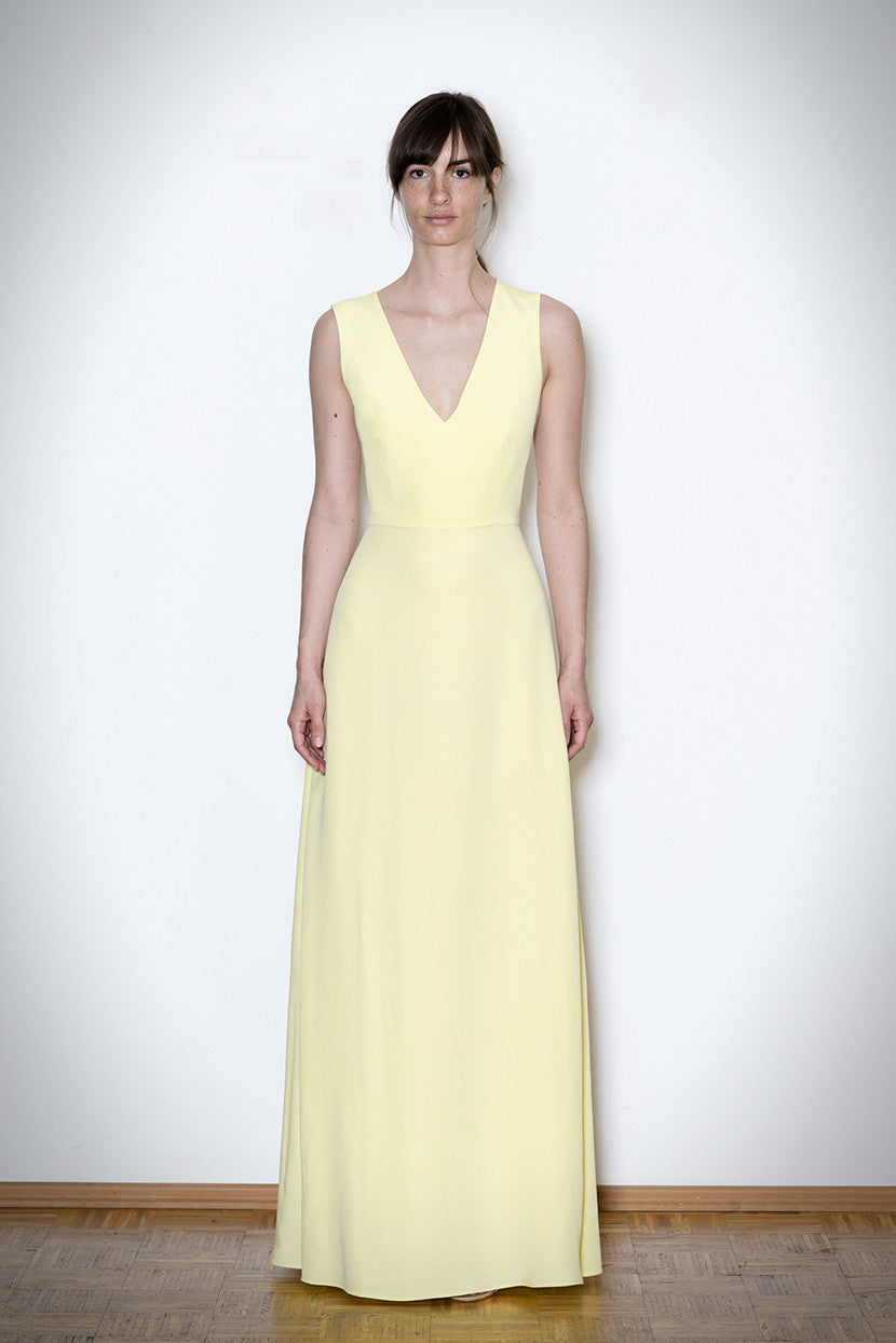SIMPLE APHRODITE DRESS lemon