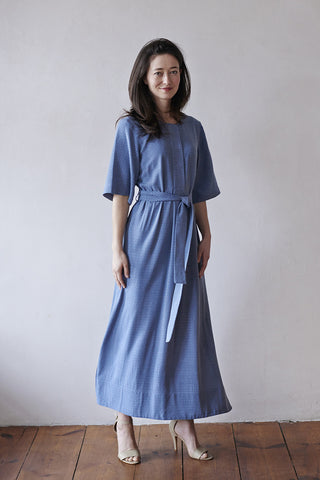 AMALFI DRESS blue
