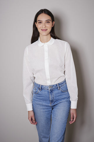 ASPEN BLOUSE off white