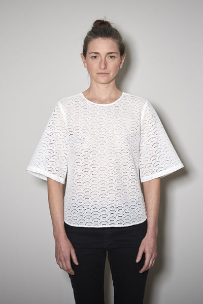 CAPRI BLOUSE white