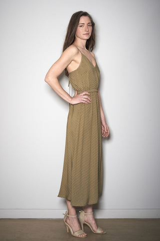 EASY SUMMER DRESS khaki