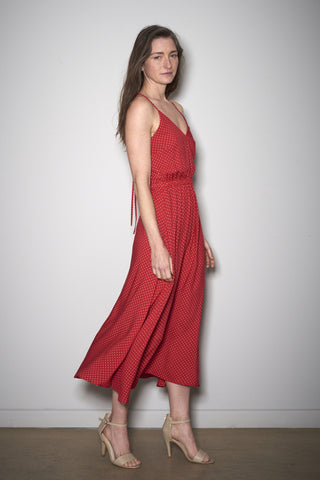 EASY SUMMER DRESS red