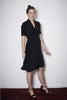 WICKELDRESS black