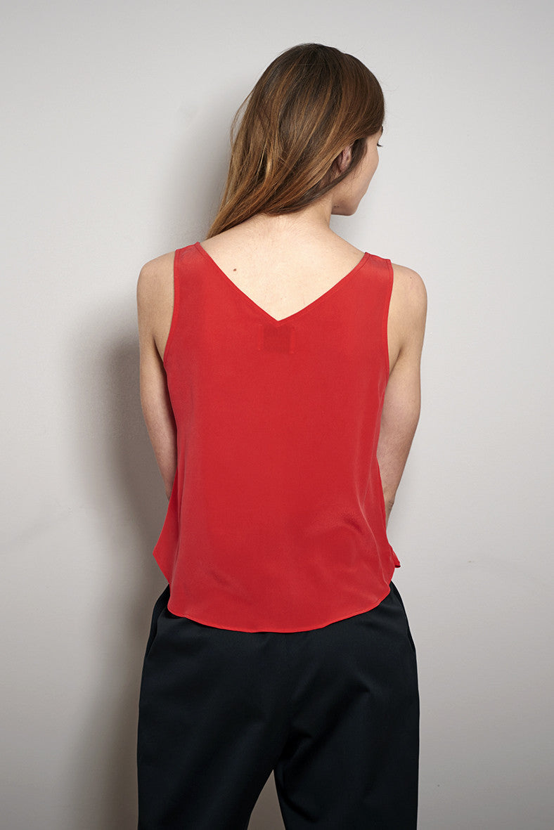 V-SUMMER TOP red