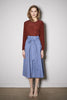 ATLANTIS SKIRT cotton blue