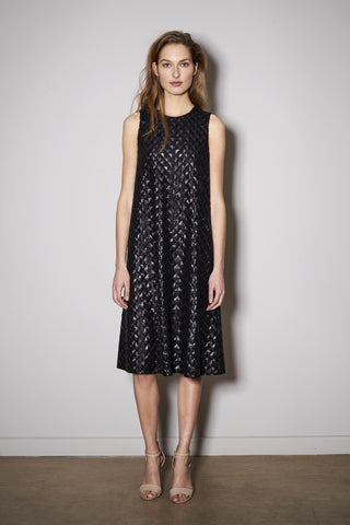 LITTLE PAILLETTE DRESS black