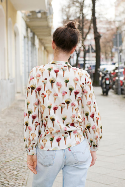 SWAN BLOUSE icecream