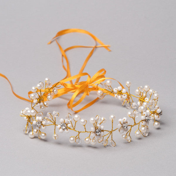 Orange Blossom Halo - Shop No.2 Accessories