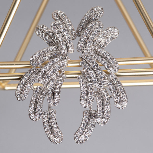 Bedazzle clip-on Earrings - Shop No.2