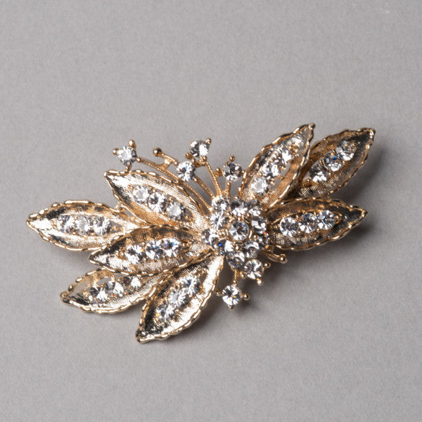 Gold Butterfly Hair Clip - Shop No.2