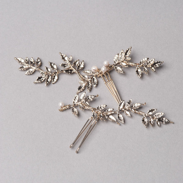 Queen Anne's Lace Hairpins - Shop No.2