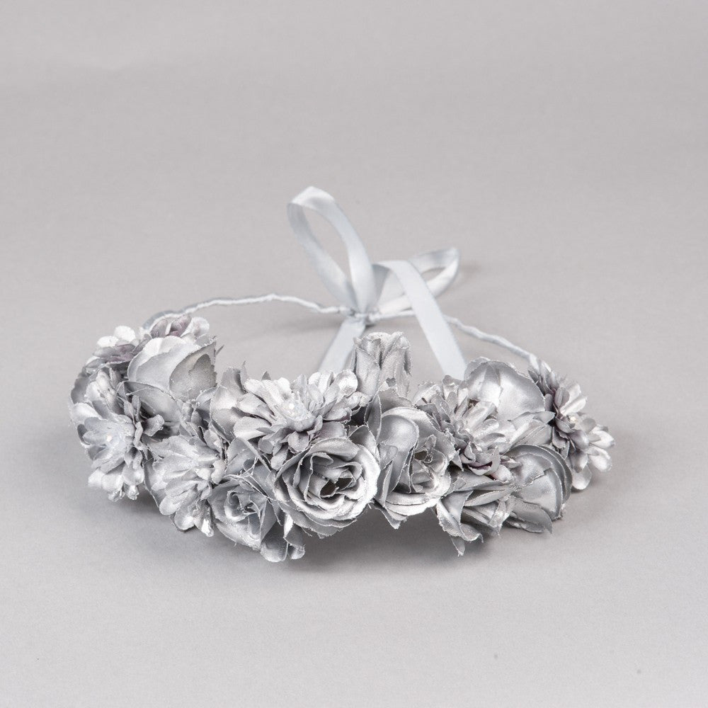 Silver Angel Flower Crown - Shop No.2