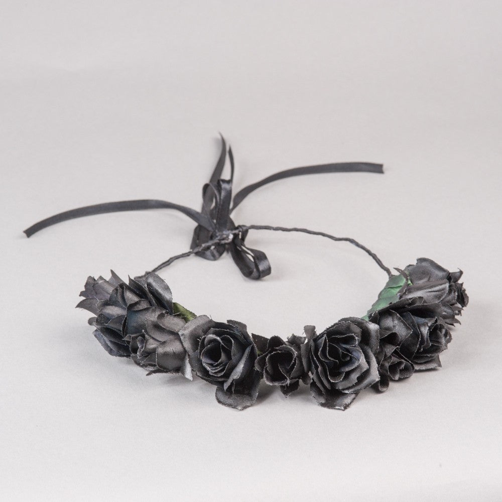 Black Swan Flower Crown
