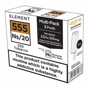 Ns20 nic-salts pods
