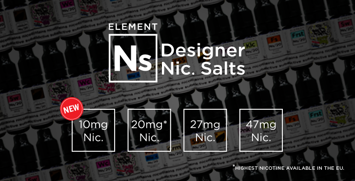 Element Designer Nic Salts