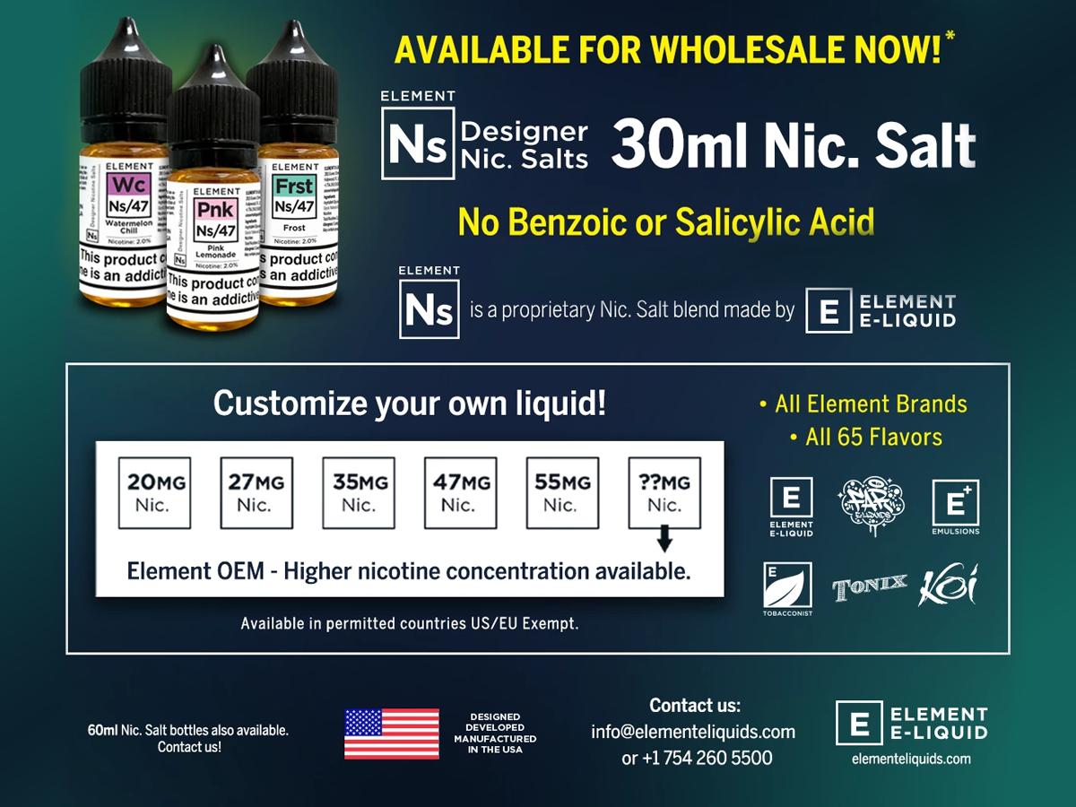Home to the finest USA e-Liquids on the planet