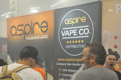 Aspire shows off product at the vape show